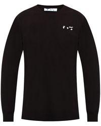 Off-White c/o Virgil Abloh Long-sleeved T-shirt Black