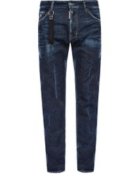 DSquared² - 'cool Guy Jean' Distressed Jeans - Lyst