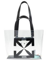 Off-White c/o Virgil Abloh Shoulder Bag With Logo - Black