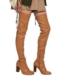 Loewe Heeled Boots Beige - Natural