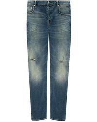 AllSaints 'rex' Distressed Jeans Blue