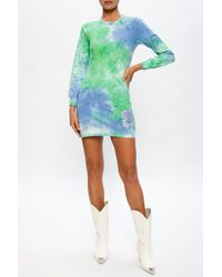 McQ Tie-dye Dress - Green