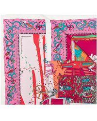Ferragamo Printed Scarf Multicolor