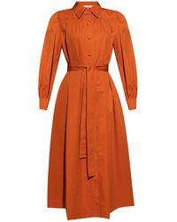 Tory Burch Artist Dress - Orange