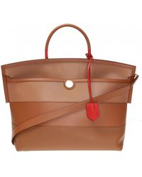 Burberry 'society' Shoulder Bag - Brown
