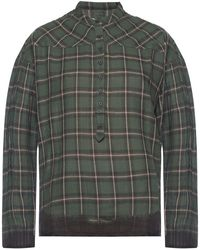 Zadig & Voltaire Chequered Shirt - Green
