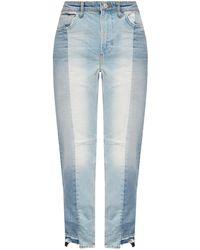 AllSaints 'kim' Stonewashed Jeans - Blue