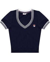 Fila Long-sleeved Top Navy Blue