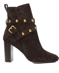 444f476acee 'janis' Heeled Ankle Boots - Brown