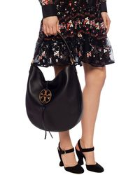 Tory Burch Miller Hobo - Black