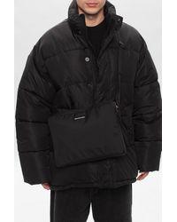 Balenciaga Branded Shoulder Bag - Black
