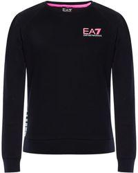 EA7 - Logo Sweatshirt - Lyst