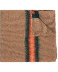 KENZO Hooded Scarf - Brown