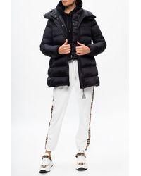 Burberry Side-stripe Joggers - White