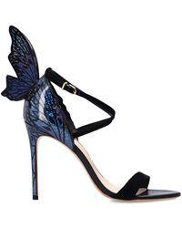 Sophia Webster 'talulah' Heeled Sandals Black