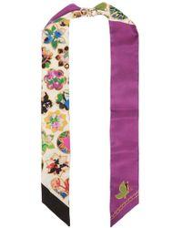 Ferragamo Floral-printed Bandeau - Multicolour