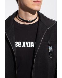 1017 ALYX 9SM Necklacewith Logo - Black