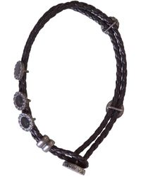 Bottega Veneta - Leather Double-stranded Bracelet - Lyst