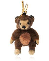 Burberry 'thomas Monkey' Keyring Unisex Brown