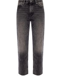 AllSaints 'ava' Distressed Jeans - Gray