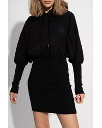 Opening Ceremony Hoodie With Logo Black