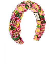Gucci Tweed Headband - Multicolour