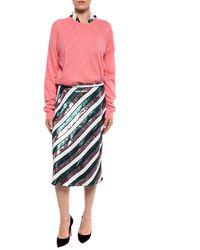 Diane von Furstenberg Sequinned Skirt Multicolour