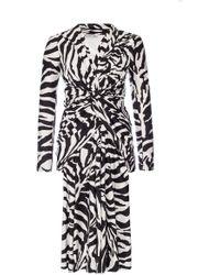 Balenciaga - Zebra Pirnted Dress - Lyst