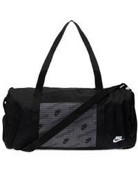 Nike Branded Holdall - Black