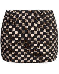 MISBHV 'monogram Trinity' Skirt Black