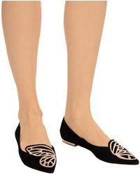 Sophia Webster Bibi Ballerina Shoes - Black
