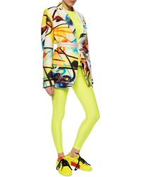 Junya Watanabe Elastic Waist Leggings Yellow