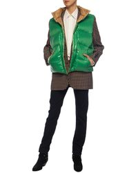 Burberry Tartan Wool Tailored Jacket With Detachable Gilet - Multicolor