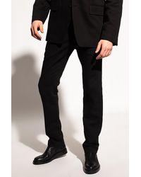 Ann Demeulemeester Cotton Pants Black