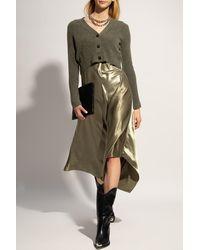 AllSaints 'orri' Two-in-one Dress Green