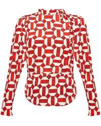 Isabel Marant - Patterned Shirt - Lyst