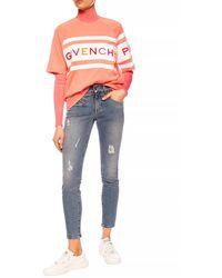 Givenchy Stonewashed Jeans Blue