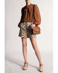 Tory Burch Floral Dot Shorts - Multicolour