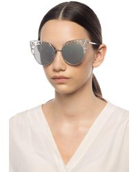 Jimmy Choo Audrey Sunglasses - Metallic