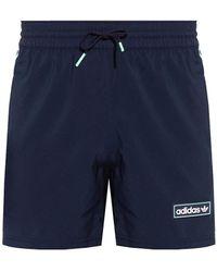 adidas Originals Shorts With Logo - Blue