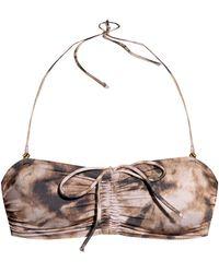 Samsøe & Samsøe Swimsuit Top - Brown