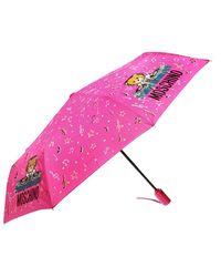 Moschino Dj Bear Umbrella - Pink
