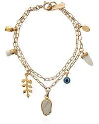 Isabel Marant Charm Bracelet Gold - Metallic