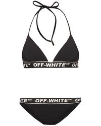 Off-White c/o Virgil Abloh Two-piece Swimsuit Black