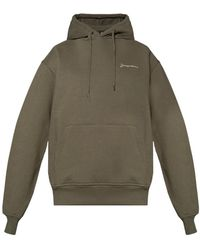 Jacquemus 'le Brode' Hoodie - Green