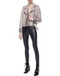AllSaints - 'cora' Leggings Black - Lyst