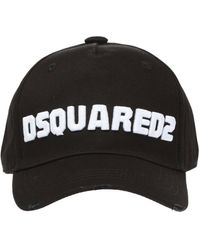 DSquared² Baseball Cap With Logo - Black