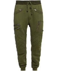 Haider Ackermann Sweatpants With Several Pockets - Green