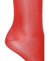 Ferragamo Signature Socks - Red