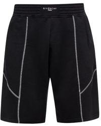 Givenchy - Striped Shorts - Lyst